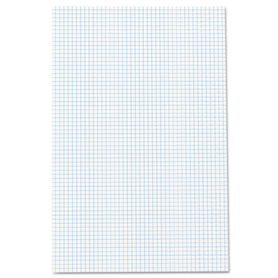Quadrille Pad, 17 x 11, White, 1, 50-Sheet Pad