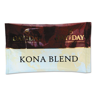 100% Pure Coffee, Kona Blend, 1.5 oz Pack, 42 Packs/Carton