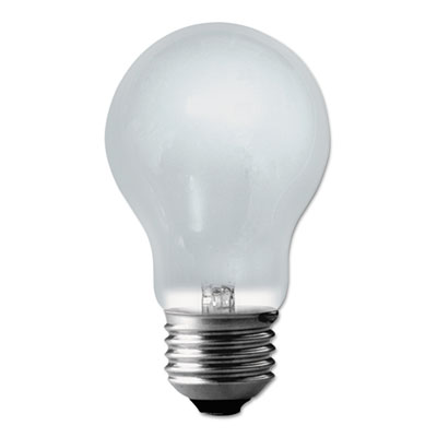 Halogen Light Bulbs, 53 Watts, Frosted, 2/Pack