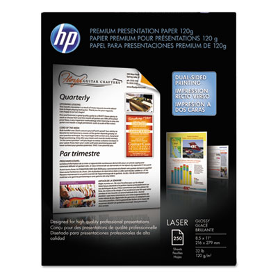 Color Laser Presentation Paper, 95 Brightness, 32lb, 8-1/2 x 11,