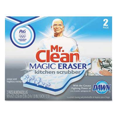 Magic Eraser Kitchen Scrubber, 2/Box
