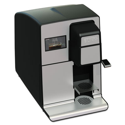 Comm. Rated Automatic Single-Serve K-Cup Compatible Brewer, BK/S