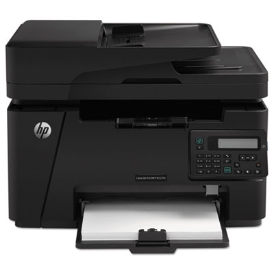LaserJet Pro MFP M127fn Multifunction Laser Printer, Copy/Fax/Pr