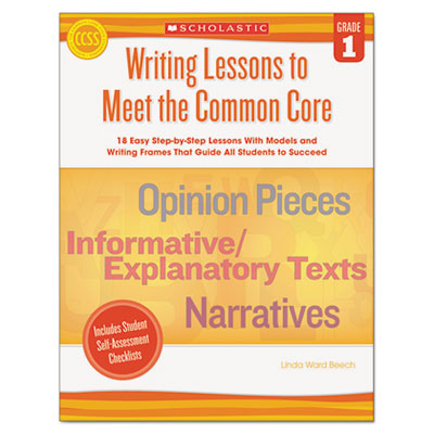 Common Core Writing Lessons, Grade 1