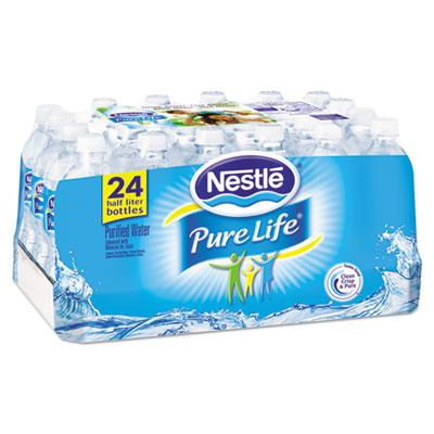 Pure Life Purified Water, 16.9 oz, 24/Carton, 78 Cartons/Pallet