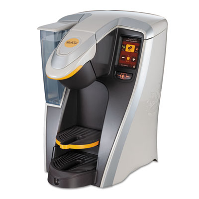 RC400 Single Cup Brewer, Black/Silver