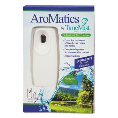 AroMatics Dispenser/Refill Kits, 3oz Meadow Breeze Refill, White