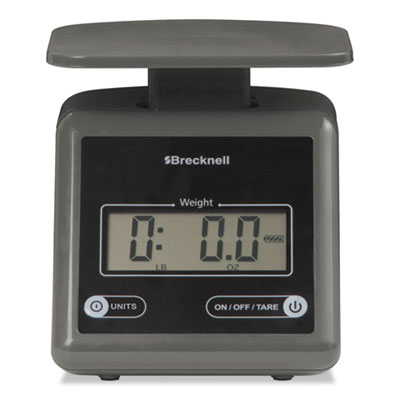 Electronic Postal Scale, 7 lbs Capacity, 6 4/5 x 5 3/5 Platform,
