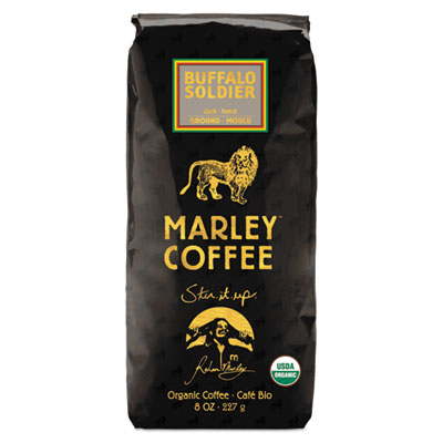 Coffee Bulk, Buffalo Soldier, 8 oz Bag