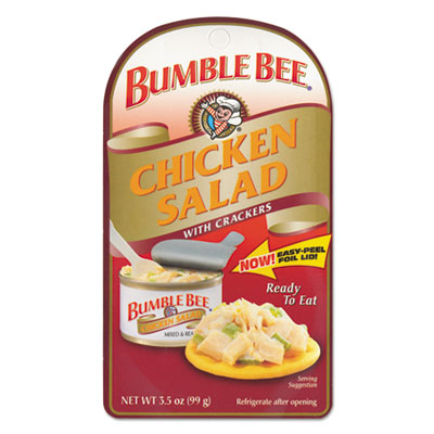 Bumble Bee On-The-Go Meal Solution w/Crackers, Chicken Salad, 3.