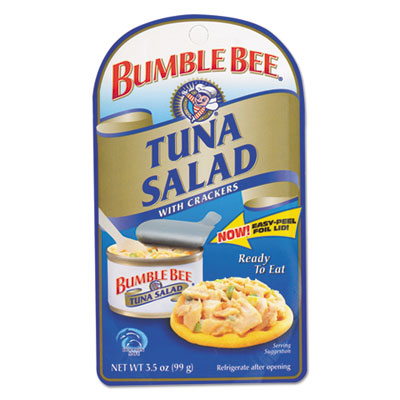 Bumble Bee On-The-Go Meal Solution w/Crackers, Tuna Salad, 3.5oz