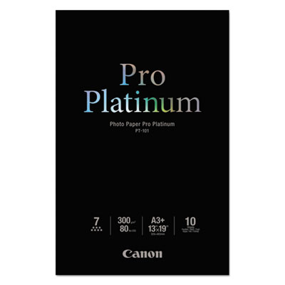 Photo Paper Pro Platinum, High Gloss, 13 x 19, 80 lb.,White, 10