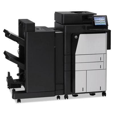 LaserJet Enterprise flow M830z Wireless Laser Multifunction, Cop