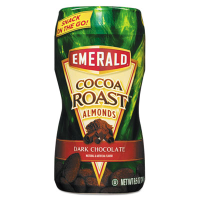Dark Chocolate Cocoa Roasted Almonds, 8.5 oz On-the-Go Canister