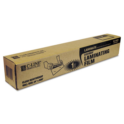 "Cleer Adheer Laminating Film, 2 mil, 24"" x 50 ft. Roll"