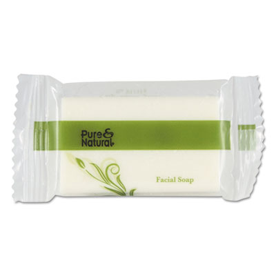 Body & Facial Soap, .75 oz, Fresh Scent, White 1000/Carton