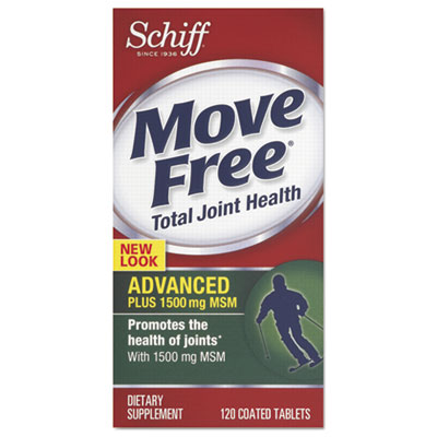 Advanced Plus MSM Total Joint Health Tablet, 120 Count