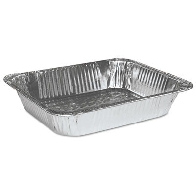 Aluminum Pan, Half-Size, Steam Table, Deep, 100/Carton