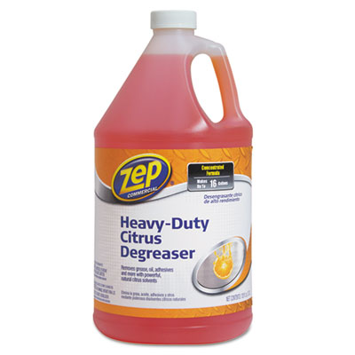 Citrus Cleaner and Degreaser, Citrus Scent, 1 gal Bottle