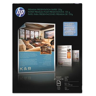 Premium Inkjet Matte Presentation Paper, 8-1/2 x 11, White, 100