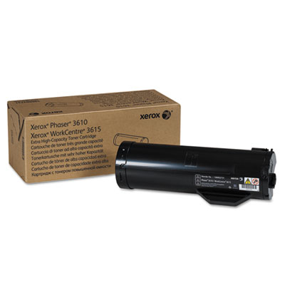 106R02731 Extra High-Capacity Toner, 25300 Page-Yield, Black