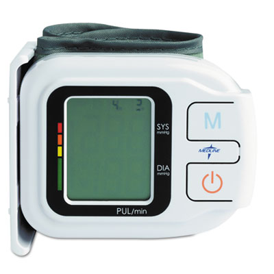 Automatic Digital Wrist Blood Pressure Monitor, One Size Fits Al