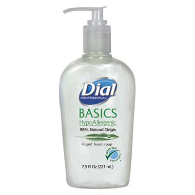 Basics Liquid Hand Soap, 7.5oz, Honeysuckle