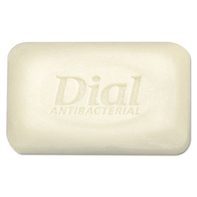 Antibacterial Deodorant Bar Soap, Unwrapped, White, 2.5oz, 200/C