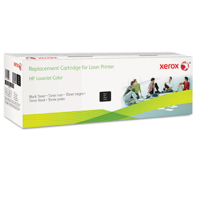 6R3012 (CE400A) Compatible Remanufactured Toner, 5500 Page-Yield