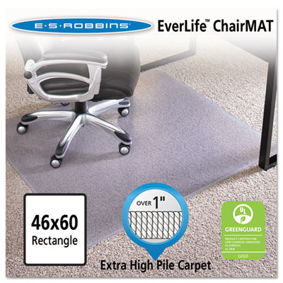 46x60 Rectangle Chair Mat, Performance Series AnchorBar for Carp
