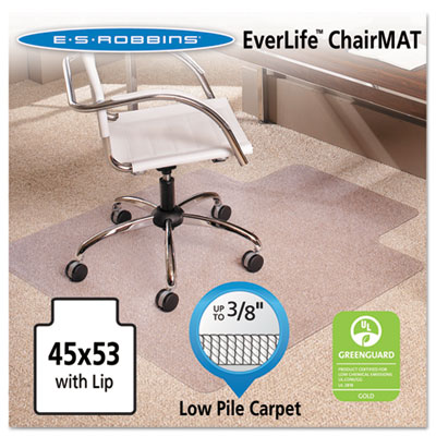 45x53 Lip Chair Mat, Multi-Task Series AnchorBar for Carpet up t
