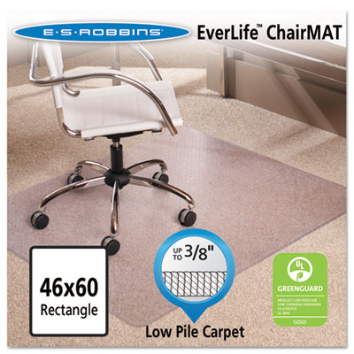 46x60 Rectangle Chair Mat, Multi-Task Series AnchorBar for Carpe