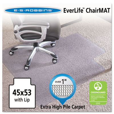 45x53 Lip Chair Mat, Performance Series AnchorBar for Carpet ove