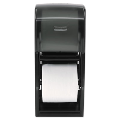 Coreless Double Roll Bath Tissue Dispenser, 6 6/10 x 6 x13 6/10,