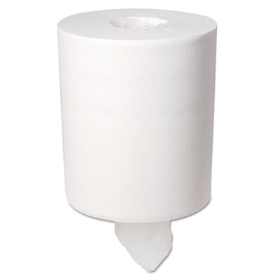 Center-Pull Perforated Paper Towels, 7 4/5 x 15, White, 320/Roll