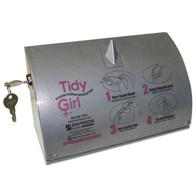Tidy Girl Stainless Steel Feminine Hygiene Disposal Bag Dispense