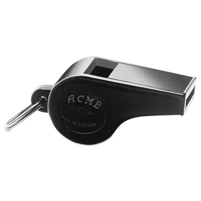 Acme Small Whistle, Plastic, Black