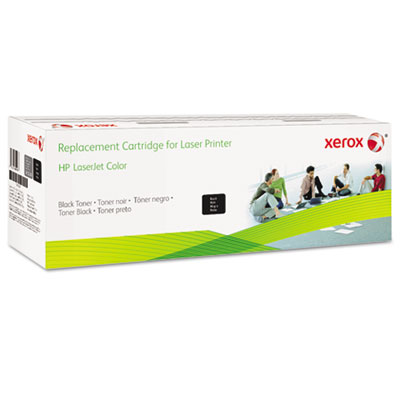 6R3014 (CE410X) Compatible Reman High-Yield Toner, 4000 Page-Yie