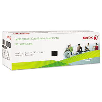 6R3008 (CE400X) Compatible Reman High-Yield Toner, 11000 Page-Yi