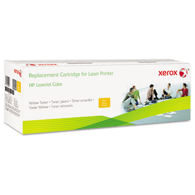 6R3007 (CF032A) Compatible Remanufactured Toner, 12500 Page-Yiel