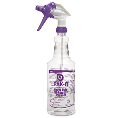 Color-Coded Trigger-Spray Bottle, 32 oz, Purple: Heavy-Duty All