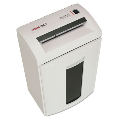 Classic 104.3 Strip-Cut Shredder, Shreds up to 24 Sheets, 8.7-Ga