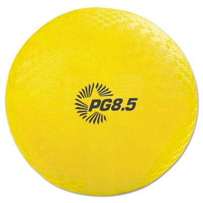 """Playground Ball, 8 1/2"""" Diameter, Yellow"""