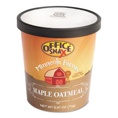 Minneloa Farms Oatmeal, Maple, 2.47oz Bowl, 24/Carton