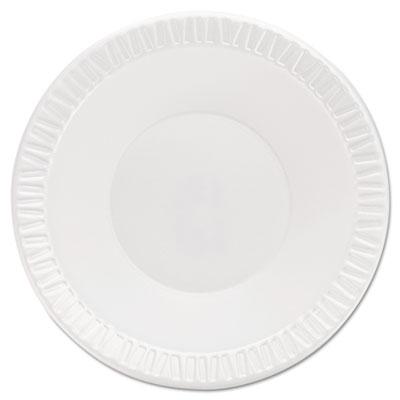 Foam Plastic Bowls, 10-12 Ounces, White, Round, 125/Pack