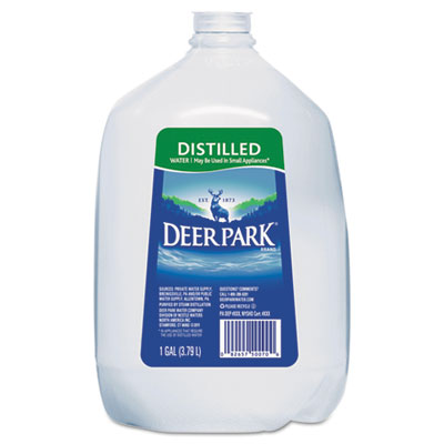 Distilled Water, 1gal, 6/Carton