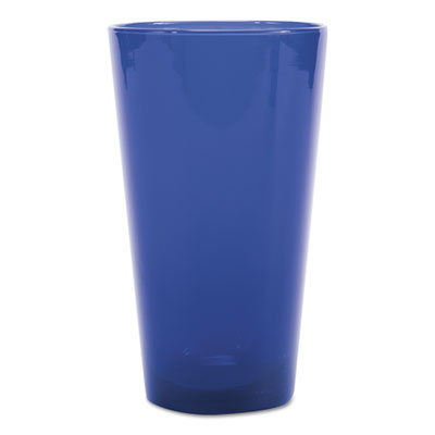 Cobalt Blue Cooler Glasses, 17.25 oz, Blue