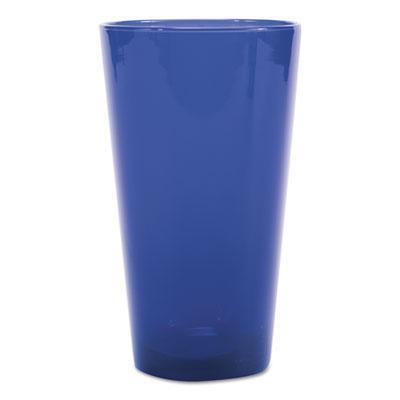 Cobalt Blue Cooler Glasses, 17.25 oz, Blue