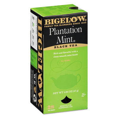 Plantation Mint Black Tea, 28/Box