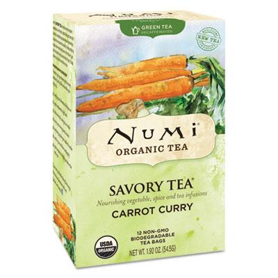 Savory Tea, Carrot Curry, 1.85 oz Teabag, 12/Box